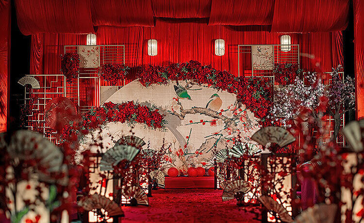 鹊悦主题婚礼