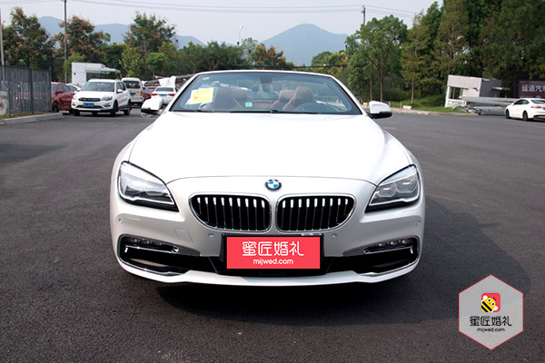 太和县宝马6系两座敞蓬跑车婚车租赁1