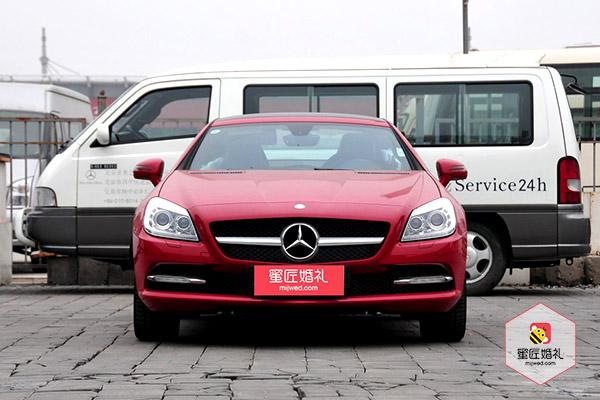 长沙一台奔驰SLK敞篷2座跑车+5台阿特兹婚车租赁