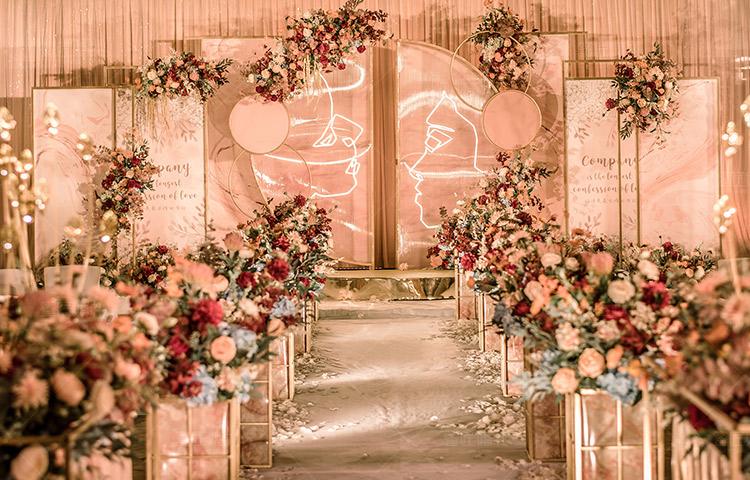 长沙婚礼策划方案:伴侣