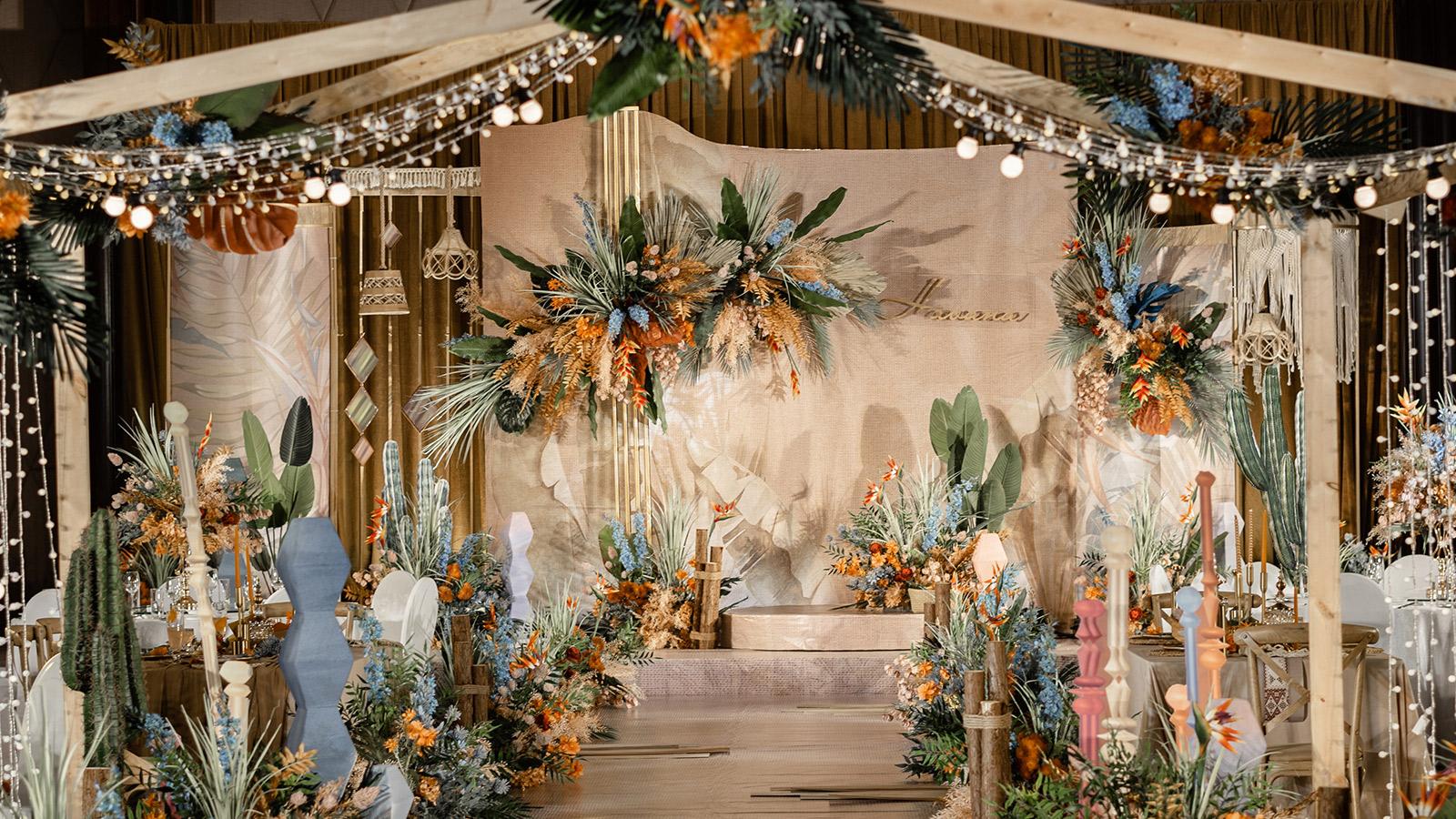 漫步哈瓦那主题婚礼