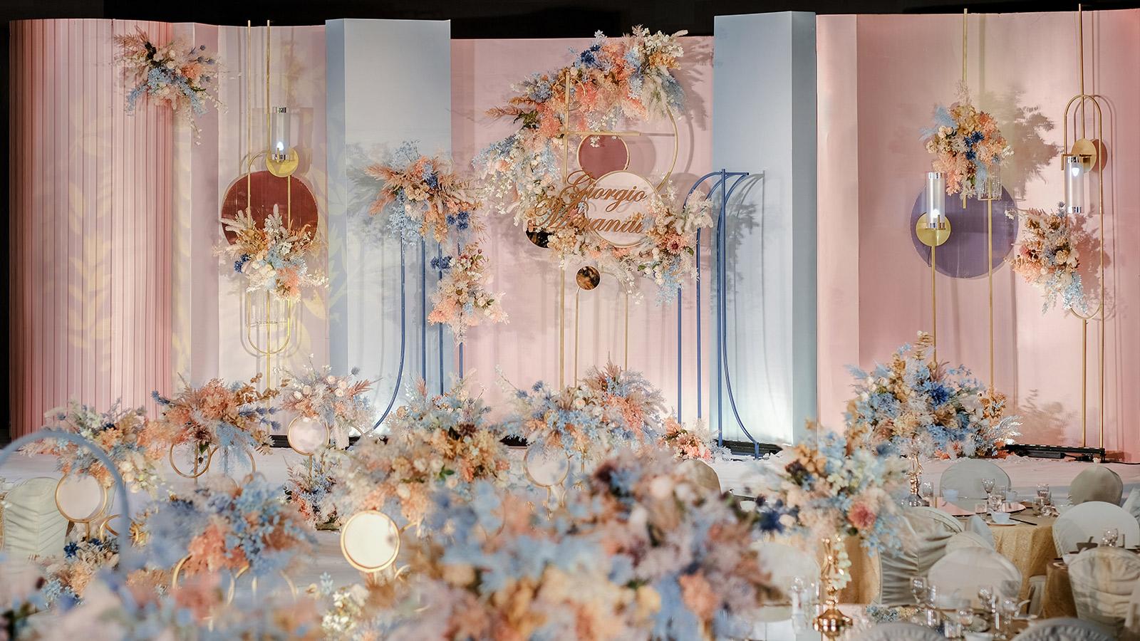 湛江市婚礼策划方案:莫兰迪爱情哲学