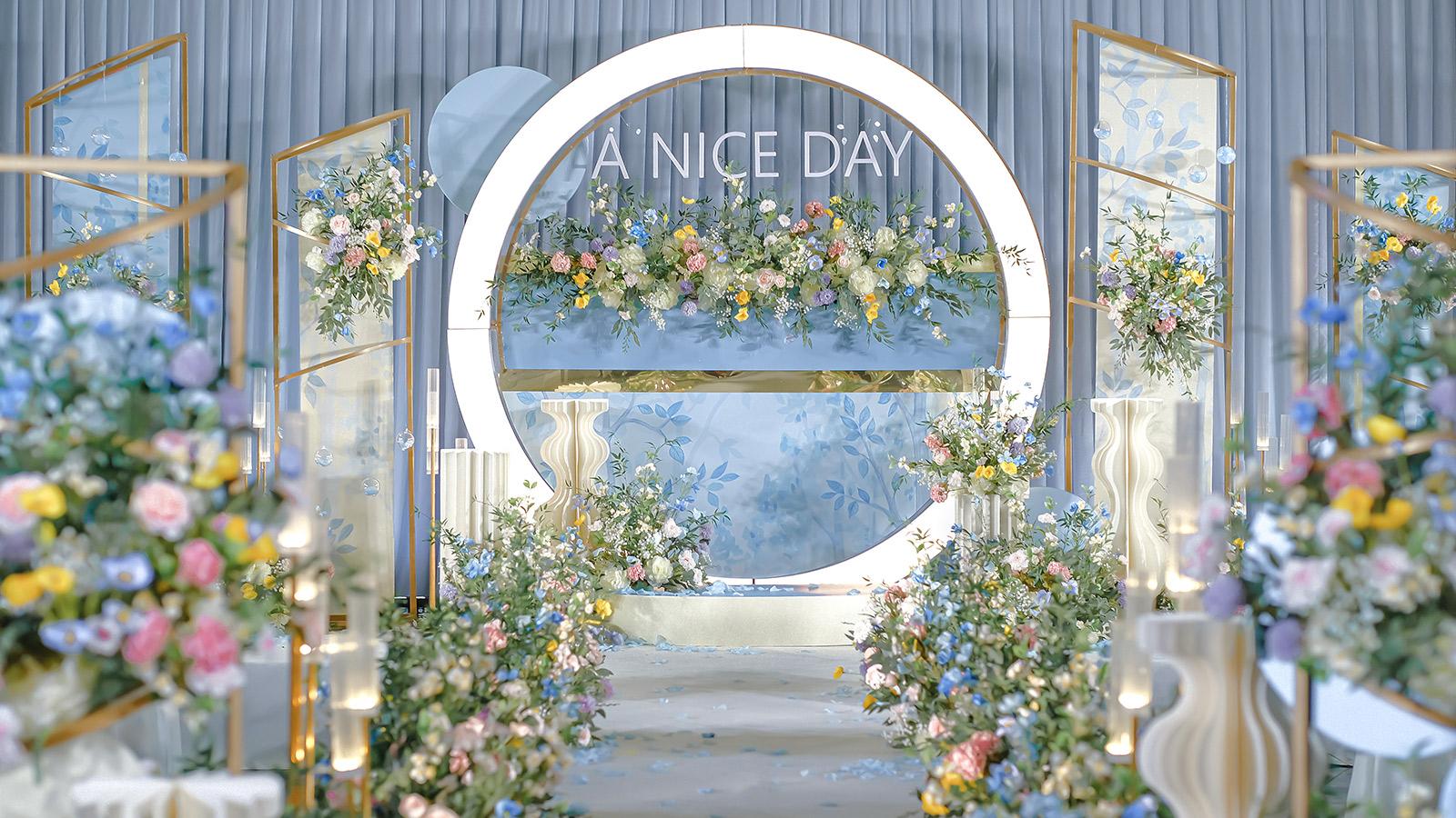 英山婚礼策划方案:A NICE DAY