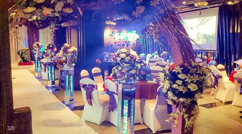 意利花园荷香精致餐厅婚宴预订