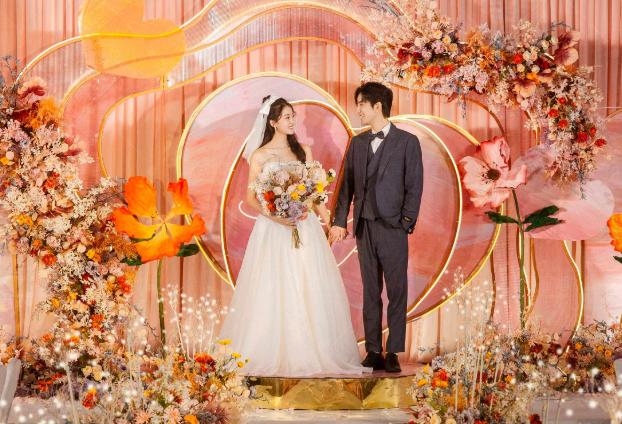 长沙10桌小型婚礼现场布置多少钱