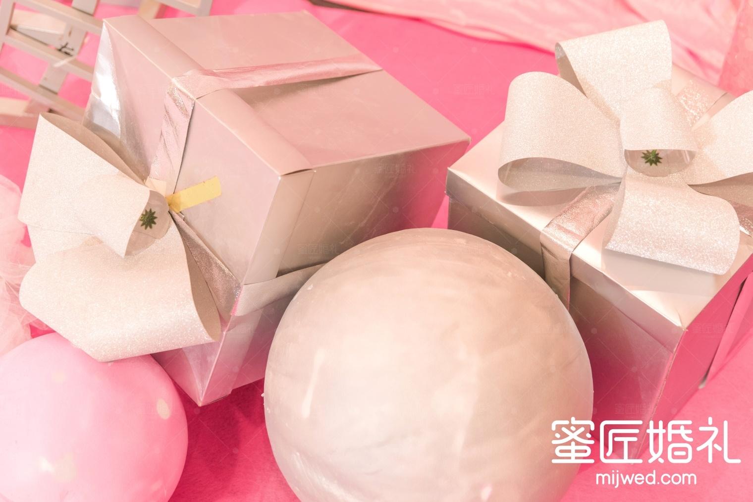 粉色系婚礼