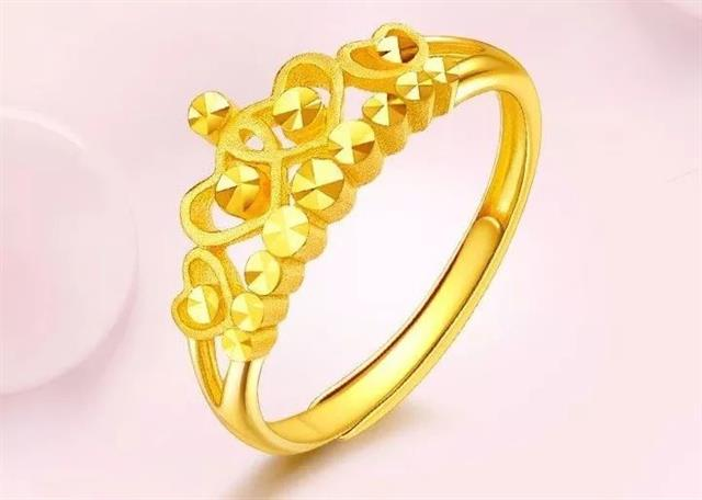 黄金戒指款式寓意大全