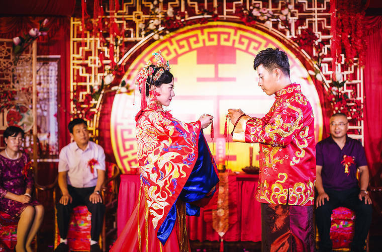 贵州结婚挂红说四句大全